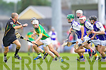 Ricky Heffernan Saint Brendans in action against  Lixnaw in the Senior County Hurling Final at Austin Stack Park Tralee on Sunday.