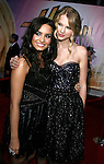 "HOLLYWOOD, CA. - April 02: Demi Lovato and Taylor Swift arrive at the premiere of Walt Disney Picture's ""Hannah Montana: The Movie"" held at the El Captian Theatre on April 2, 2009 in Hollywood, California."