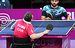 Steven Dunn competes in mens table tennis at the 2019 ParaPan American Games in Lima, Peru-22aug2019