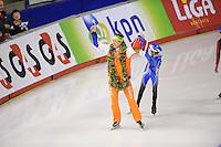 SCHAATSEN: Calgary: Essent ISU World Sprint Speedskating Championships, 29-01-2012, Wereldkampioen Stefan Groothuis, ©foto Martin de Jong