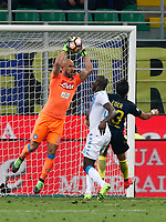 Pepe Reina during the  italian serie a soccer match,between Inter FC  and SSC Napoli      at  the San Siro   stadium in Milan  Italy , April  30, 2017