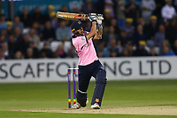 Stevie Eskinazi hits four runs for Middlesex during Essex Eagles vs Middlesex, NatWest T20 Blast Cricket at The Cloudfm County Ground on 11th August 2017