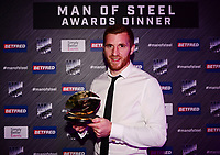 Picture by Simon Wilkinson/SWpix.com - 03/10/2017 - Rugby League BETFRED Super League Man of Steel Awards Dinner 2017 - The Steve Prescott MBE Man of Steel - Marc SNEYD