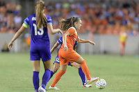 Houston, TX - Saturday Sept. 03, 2016: Andressa Machry during a regular season National Women's Soccer League (NWSL) match between the Houston Dash and the Orlando Pride at BBVA Compass Stadium.