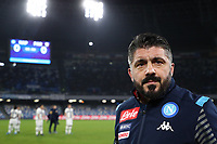 Gennaro Gattuso coach of Napoli<br /> Napoli 14-12-2019 Stadio San Paolo <br /> Football Serie A 2019/2020 <br /> SSC Napoli - Parma Calcio 1913<br /> Photo Cesare Purini / Insidefoto