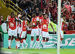 Independiente Santa Fe igualó 1-1 ante Envigado FC en el Nemesio Camacho El Campín de Bogotá, por la fecha 18 del Torneo Clausura Colombiano 2015.