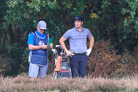 Sam Horsfield (ENG) on the 2nd during Round 3 of the Sky Sports British Masters at Walton Heath Golf Club in Tadworth, Surrey, England on Saturday 13th Oct 2018.<br /> Picture:  Thos Caffrey | Golffile