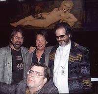 Matt Groening,Dave Barry,Al Kooper & <br /> Stephen King 1992 by Jonathan Green