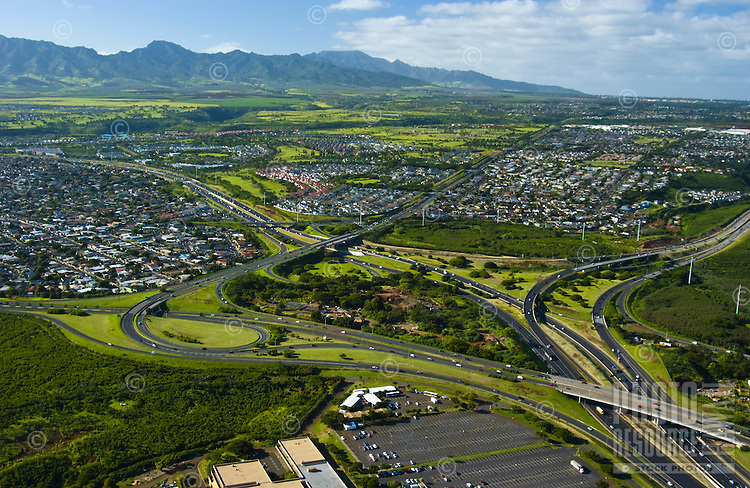 Central Oahu, H-1/H-2 Freeways
