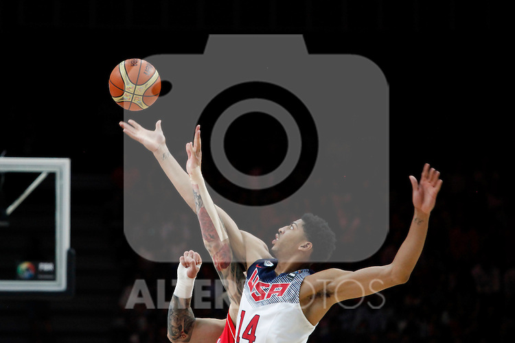 United States´s Davis during FIBA Basketball World Cup Spain 2014 final match between United States and Serbia at `Palacio de los deportes´ stadium in Madrid, Spain. September 14, 2014. (ALTERPHOTOSVictor Blanco)