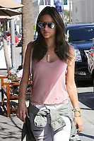BEVERLY HILLS, CA - MARCH 12: Alessandra Ambrosio out for lunch at Il Pastaio in Beverly Hills, California on March 12, 2014. Credit:SP1/StarlitePics/NortePhoto