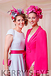 Lisa Daly and Brid Brouder (both from Limerick), enjoying Ladies Day at Listowel Races on Friday last.