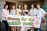Colette Barrett, Cecily Lynch, Carol Kennelly, Stacey O'Leary, Margaret Barrett and Geraldine Barrett at the Kerry Rose Selection at Ballyroe Heights Hotel on Friday Night.