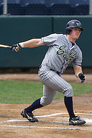 July 1, 2007: Eugene Emeralds' Daniel Payne batting against the Everett AquaSox in a Northwest League game at Everett Memorial Stadium in Everett, Washington.