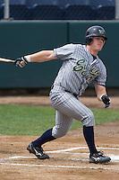 July 1, 2007: Eugene Emeralds' Daniel Payne batting against the Everett AquaSox in a Northwest League game at Everett Memorial Stadium in Everett, Washington.