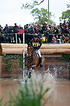 Badminton, Gloucestershire, United Kingdom, 4th May 2019, Sarah Bullimore riding Reve Du Rouet during the Cross Country Phase of the 2019 Mitsubishi Motors Badminton Horse Trials, Credit:Jonathan Clarke/JPC Images