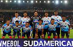 Junior venció 0-2 a Independiente Santa Fe. Semifinales ida Conmebol Sudamericana 2018.