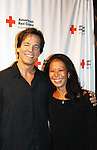 Guiding Light Bradley Cole poses with his wife Yoko at the 7th Annual Rock Show For Charity hosted by Kristen Alderson and Gina Tognoni and Bradley Cole to benefit American Red Cross - disaster relief efforts in Japan on October 8, 2011 at the SoHo Playhouse, New York City, New York. (Photo by Sue Coflin/Max Photos)