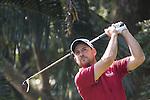 David Howell of England tees off during the 58th UBS Hong Kong Golf Open as part of the European Tour on 09 December 2016, at the Hong Kong Golf Club, Fanling, Hong Kong, China. Photo by Vivek Prakash / Power Sport Images