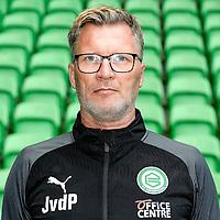 GRONINGEN - Voetbal, presentatie FC Groningen, seizoen 2019-2020, 08-08-2019, Johan van der Ploeg verzorger