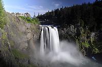Snoqualmie Falls, Snoqualmie, Washington, US