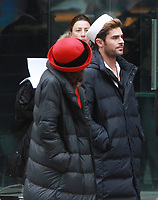 NEW YORK, NY - DECEMBER 8:  Zac Efron, filming scenes for The Late Late Show With James Corden segment, Crosswalk The Musical in New York City on December 8, 2017. Credit: RW/MediaPunch /nortephoto.com NORTEPHOTOMEXICO