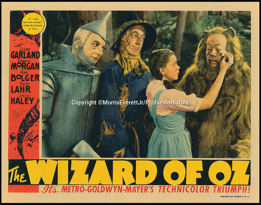 BNPS.co.uk (01202 558833)<br /> PIc: MorrisEverettJr/ProfilesInHistory/BNPS<br /> <br /> ***Please Use Full Byline***<br /> <br /> The Wizard of Oz (1939). <br /> <br /> The world's largest collection of movie posters boasting artwork from almost every single film made in the last century has emerged for sale for &pound;5 million.<br /> <br /> The colossal archive features 196,000 posters from more than 44,000 films, and has been singlehandedly pieced together by one avid collector over the last 50 years.<br /> <br /> Morris Everett Jr has dedicated his life's work to seeking out original posters from every English-speaking film ever made and compiling them into a comprehensive library.<br /> <br /> The sale is tipped to make $8 million - around &pound;5 million pounds - when it goes under the hammer in one lot at Califonia saleroom Profiles in History on December 17.