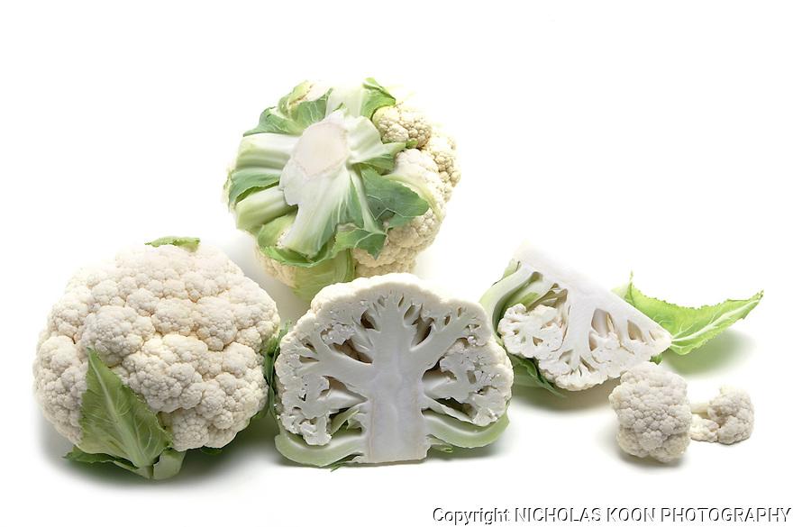 Cauliflower still life.