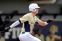 4 March 2012:  FIU outfielder Nathan Burns (6) bats as the FIU Golden Panthers defeated the Brown University Bears, 8-3, at University Park Stadium in Miami, Florida.