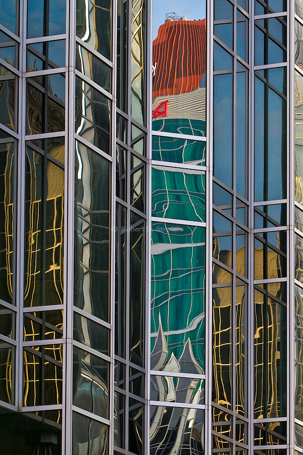 Pittsburgh Reflections - Architectural abstract reflections in the City of Pittsburgh
