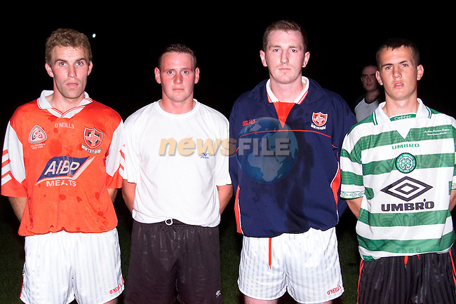 L/R, David Brennan, Paul Reilly, Christy Grimes and david Reid..Picture: Paul Mohan/Newsfile