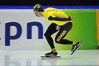 SCHAATSEN: HEERENVEEN: 25-10-2014, IJsstadion Thialf, Trainingswedstrijd schaatsen, Sven Kramer, ©foto Martin de Jong