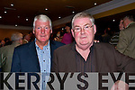 Rebel, Rebel.: Billy Morgan and life long friend Eamonn O'Connor fron Listowel at the launch on Saturday night