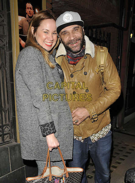 LONDON, ENGLAND - MARCH 17: Mika Wassenaar &amp; Goldie attend the &quot;Once&quot; VIP gala night, Phoenix Theatre, Charing Cross Rd., on Monday March 17, 2014 in London, England, UK.<br /> CAP/CAN<br /> &copy;Can Nguyen/Capital Pictures