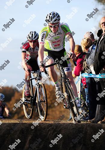 2014-11-22 / Veldrijden / seizoen 2014-2015 / PK Antwerpen Junioren / Michiel Breugelmans<br /><br />Foto: mpics.be