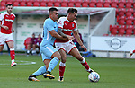 Rotherham United VS Manchester City U21 EFL Trophy - Nth Group F <br /> Tuesday 15th August 2017, New York Stadium Rotherham<br /> <br /> Picture - Alex Roebuck / www.alexroebuck.co.uk