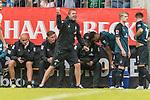 20.07.2018, Parkstadion, Zell am Ziller, AUT, FSP, 1.FBL, SV Werder Bremen (GER) vs 1. FC Koeln (GER)<br /> <br /> im Bild<br /> Florian Kohfeldt (Trainer SV Werder Bremen) emotional in Coachingzone / an Seitenlinie, <br /> <br /> Foto © nordphoto / Ewert
