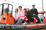 Jess, Emma, Jess and Emma in the Coastguard boat at Scotch Hall..Photo NEWSFILE/Jenny Matthews.(Photo credit should read Jenny Matthews/NEWSFILE)....This Picture has been sent you under the condtions enclosed by:.Newsfile Ltd..The Studio,.Millmount Abbey,.Drogheda,.Co Meath..Ireland..Tel: +353(0)41-9871240.Fax: +353(0)41-9871260.GSM: +353(0)86-2500958.email: pictures@newsfile.ie.www.newsfile.ie.FTP: 193.120.102.198.