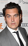 Joe Wright attending the The 2012 Toronto International Film Festival.Red Carpet Arrivals for 'Anna Karenina' at the Elgin Theatre in Toronto on 9/7/2012