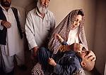 Polio Immunization campaign in Herat province, Afghanistan, 2003.