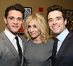 Casey Cott, Judith Light and Corey Cott attends the After Party for the Dramatists Guild Foundation toast to Stephen Schwartz with a 70th Birthday Celebration Concert at The Hudson Theatre on April 23, 2018 in New York City.