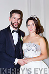 Sarah Dowling, Cork City daughter of Robert and Kevin O'Shea, Ballymac, son of Gerard and Mary who were married in a Houmanist ceremony in the Great Southern Hotel on Saturday, flowergirls were Mia Dowling O'Mahony, Alice and Isabelle O'Sullivan, the couple will reside in Cork City