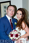 Shauna Dennehy, Tralee, daughter of Sean Coffey and Linda Dennehy, and Derry Kelliher Blennerville, son of Derry and Phil, who were married in a civil ceremony in the Killarney Heights Hotel on Thursday, best man was Brandon Patterson bridesmaid was Mia Pattsrson, pageboy was Cameron Patterson, the couple will reside in Tralee