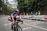 Daniel Martin (IRL/UAE) up the Cauberg<br /> <br /> 53th Amstel Gold Race (1.UWT)<br /> 1 Day Race: Maastricht &gt; Berg en Terblijt (263km)