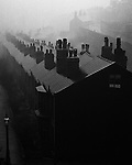 Misty evening in Sheffield, 1937