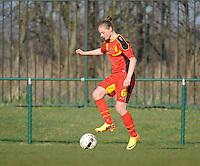 U19 Belgian Red Flames - Austria :<br /> <br /> Margaux Van Ackere<br /> <br /> foto Dirk Vuylsteke / Nikonpro.be
