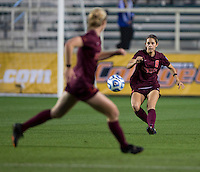 Danielle King. Florida State defeated Virginia Tech, 3-2,  at the NCAA Women's College Cup semifinals at WakeMed Soccer Park in Cary, NC.