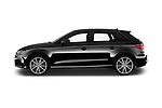 Car driver side profile view of a 2018 Audi S3 Sportback Base 5 Door Hatchback