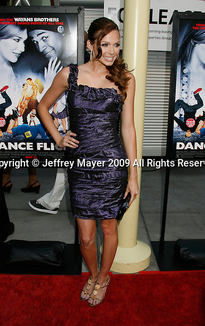 "HOLLYWOOD, CA. - May 20: Christina Murphy arrives at the Los Angeles Premiere of ""Dance Flick"" at the ArcLight Theatre on May 20, 2009 in Hollywood, Californnia"