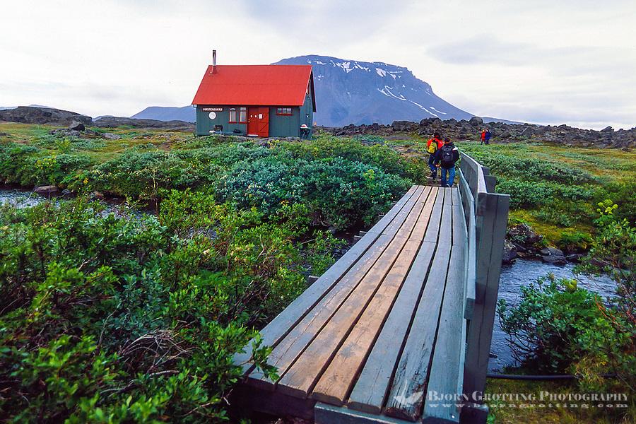 Iceland. Herdubreid is a tuya close to the Askja volcano.